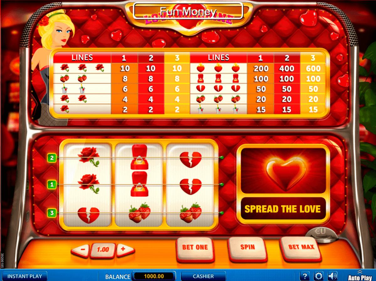 love machine skillonnet spielautomaten