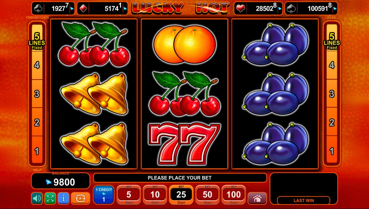 lucky hot spielen
