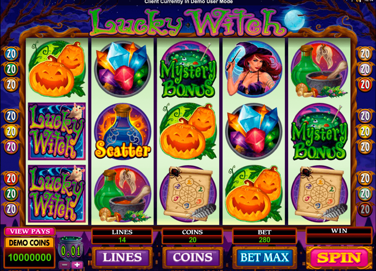 lucky witch microgaming spielautomaten
