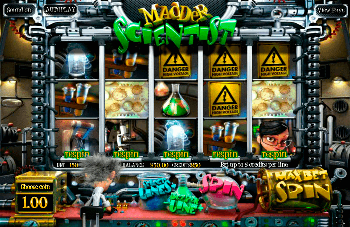 madder scientist betsoft spielautomaten