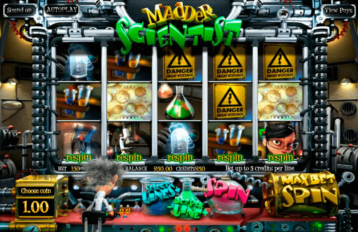 madder scientist betsoft spielautomaten
