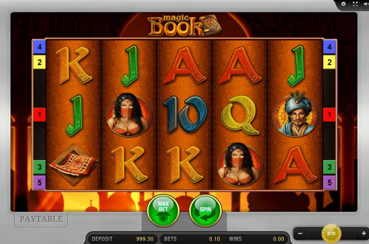 magic book bally wulff spielautomaten