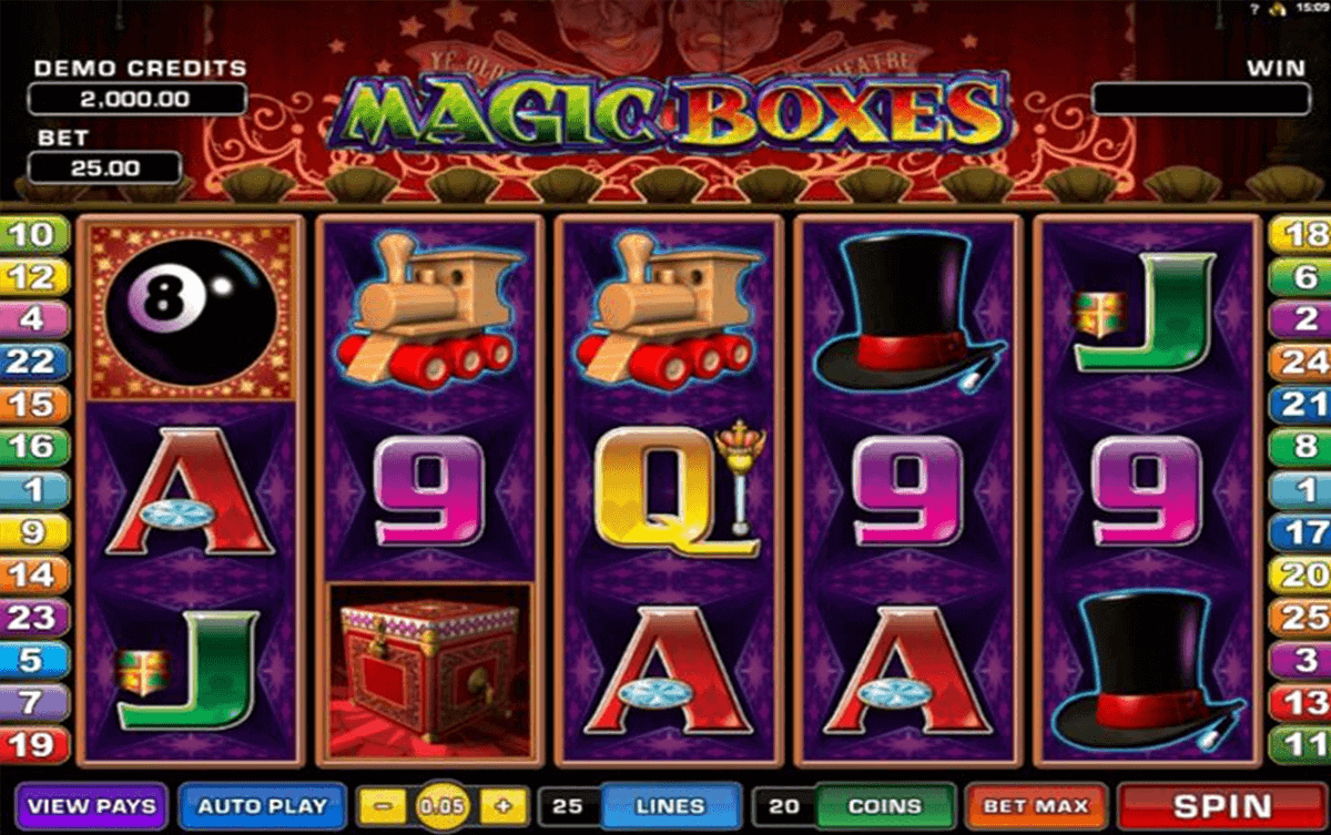 magic boxes microgaming spielautomaten