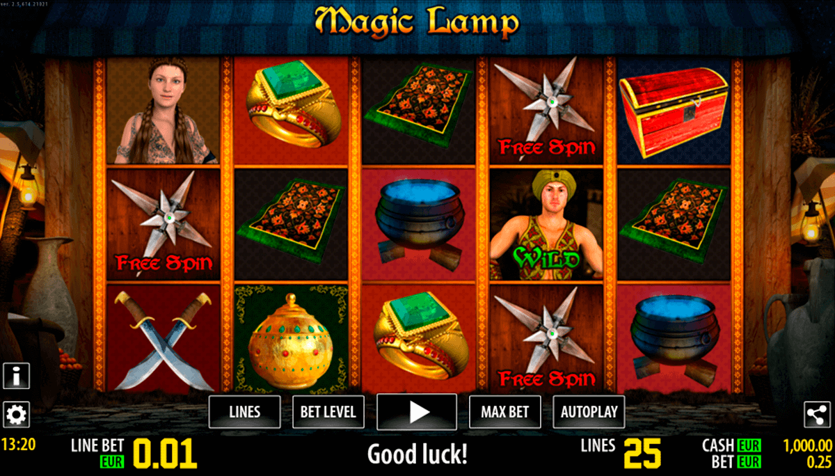 magic lamp hd world match spielautomaten