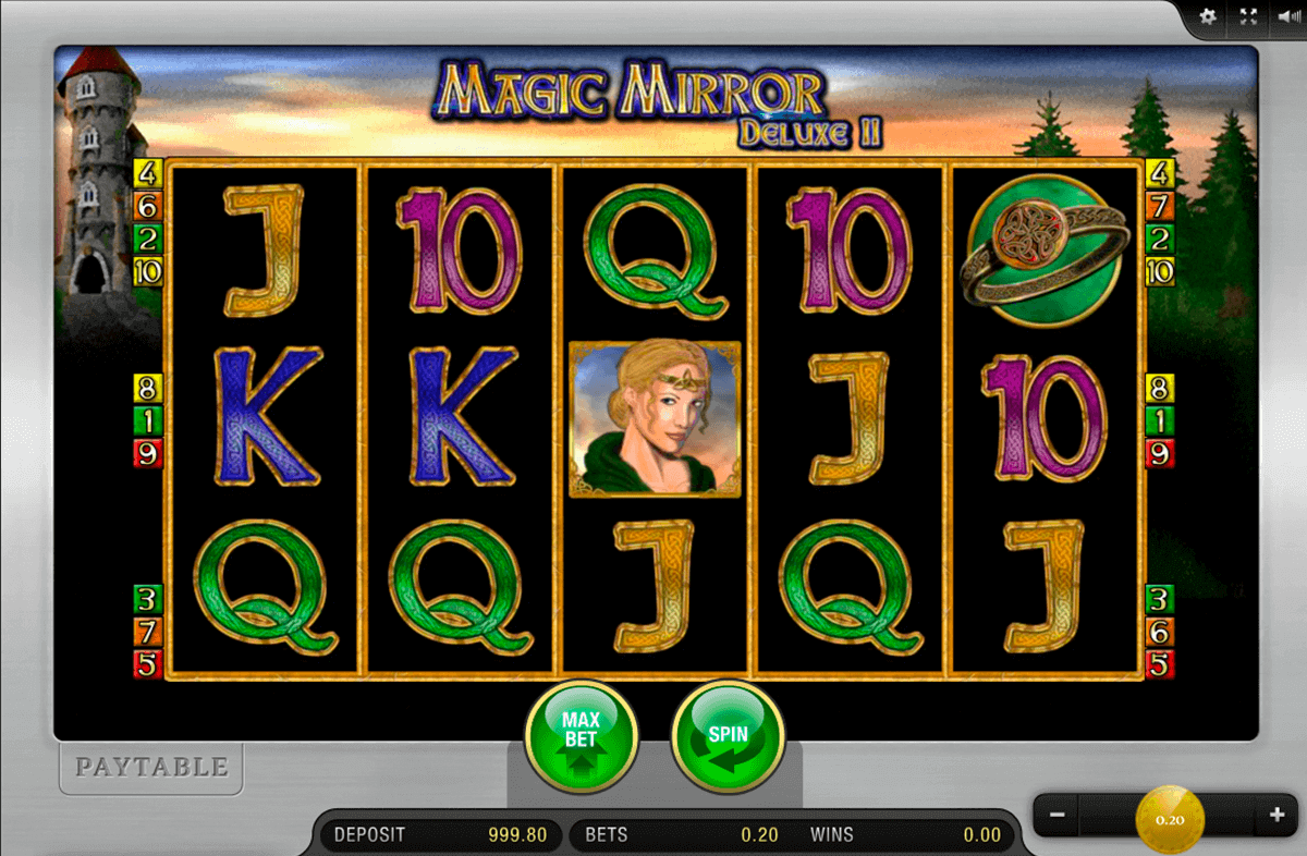 magic mirror deluxe merkur spielautomaten