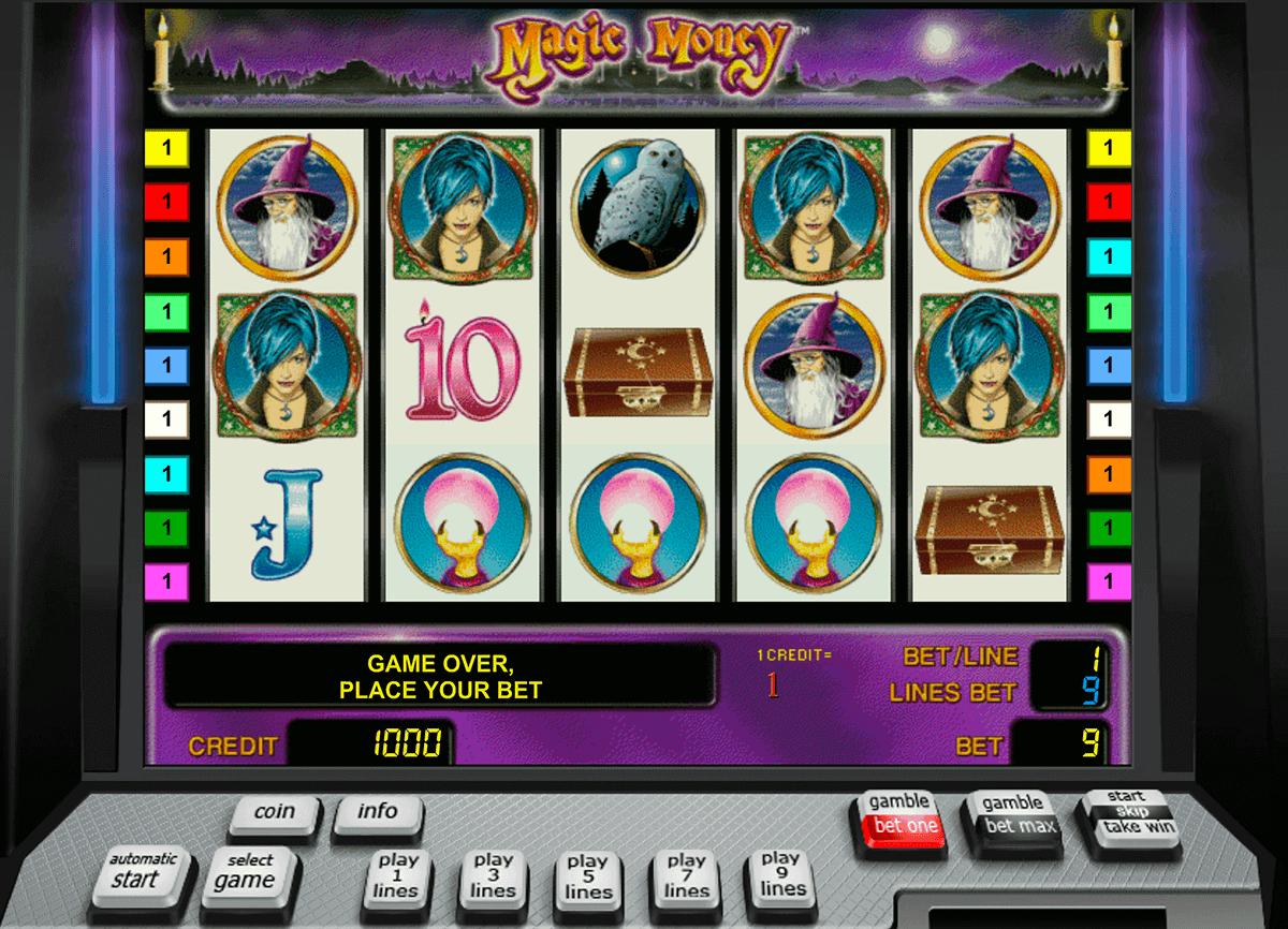 magic money novomatic spielautomaten