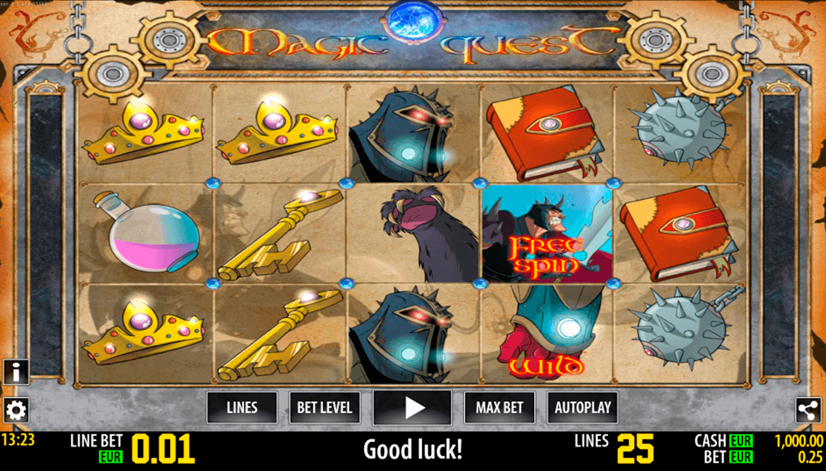 magic quest hd world match spielautomaten