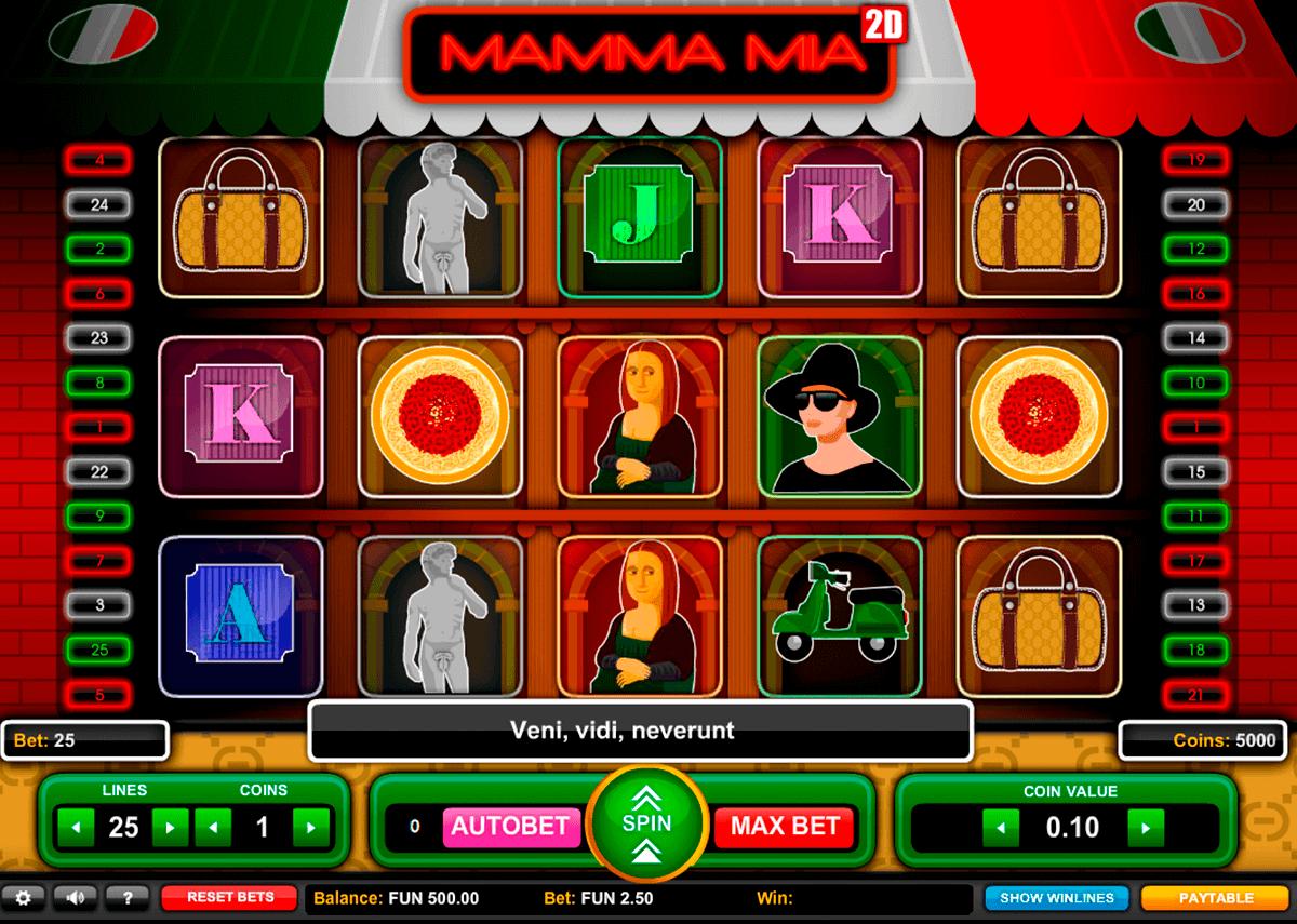 mamma mia gaming spielautomaten