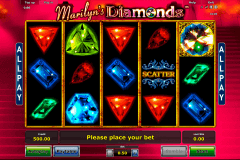 marilyns diamonds novomatic spielautomaten