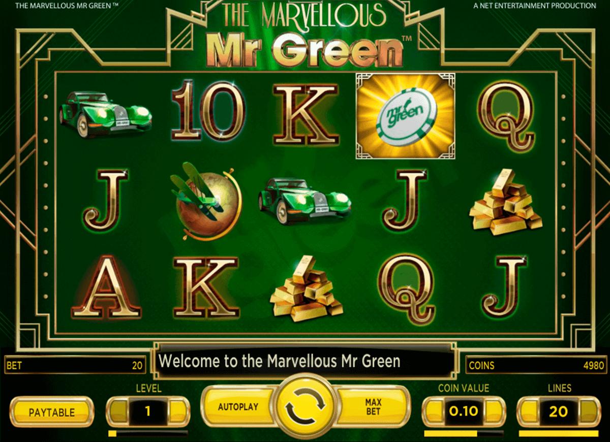 Mr Green De Spiele