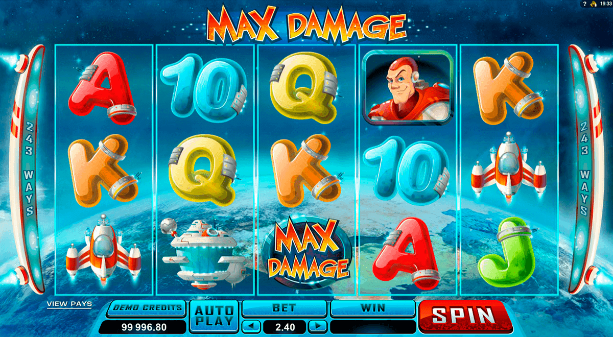 max damage microgaming spielautomaten
