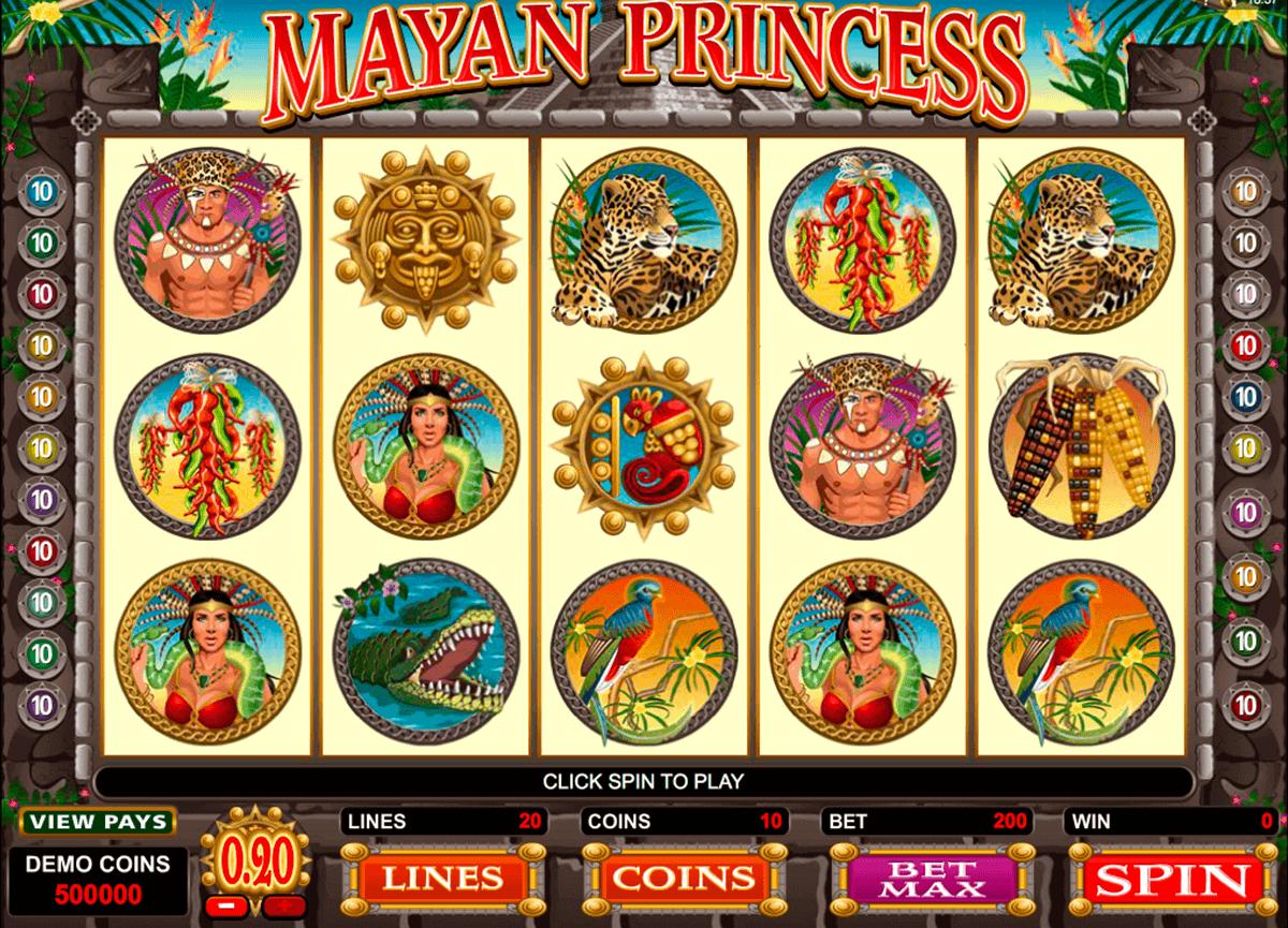 mayan princess microgaming spielautomaten