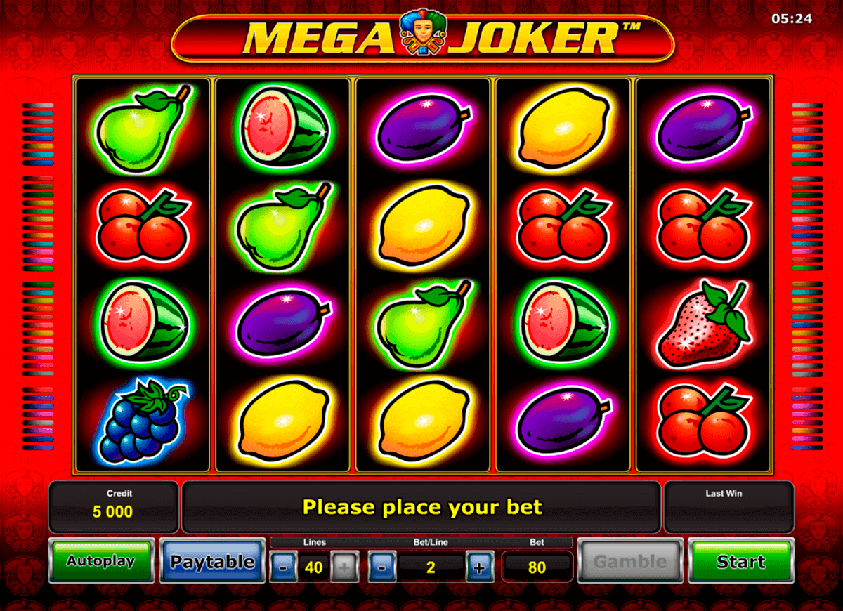 online casino dealer mega joker