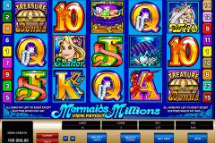 mermaids millions microgaming spielautomaten