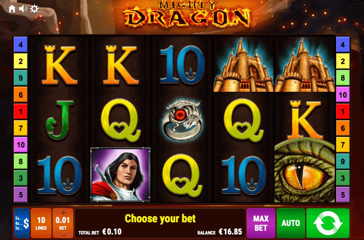 mighty dragon bally wulff spielautomaten