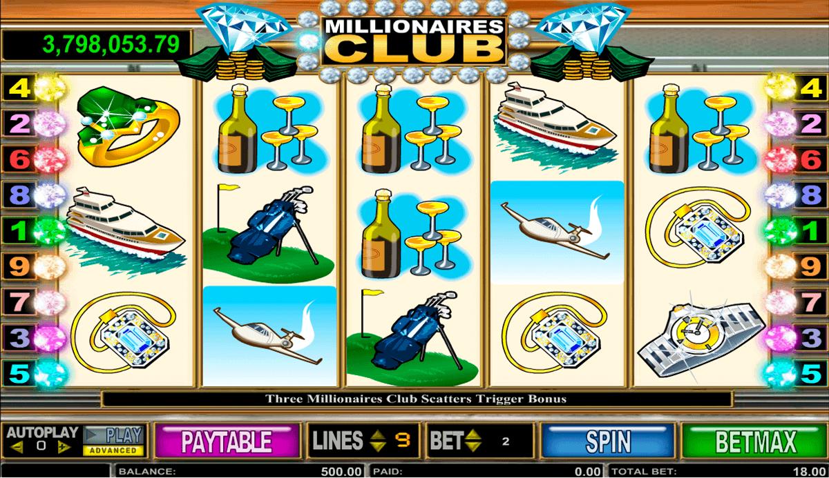 millionaires club ii amaya spielautomaten