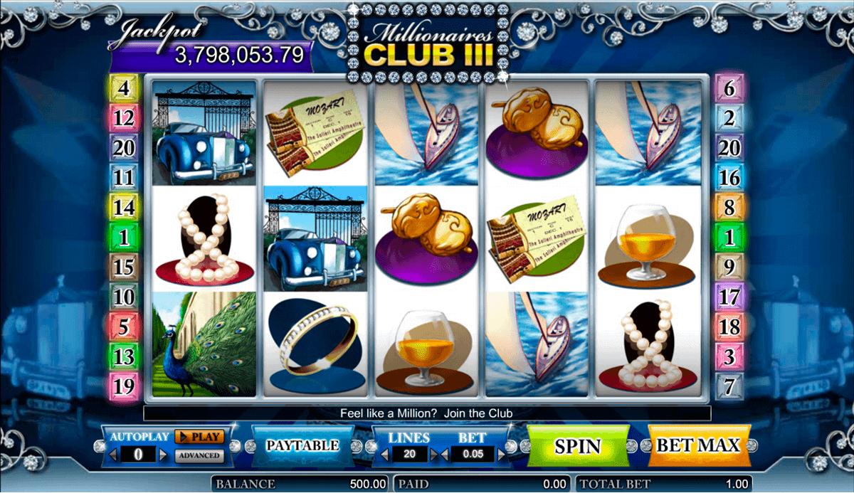 millionaires club iii amaya spielautomaten