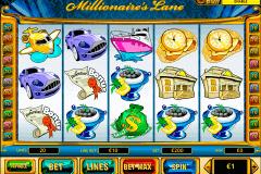 millionaires lane playtech spielautomaten
