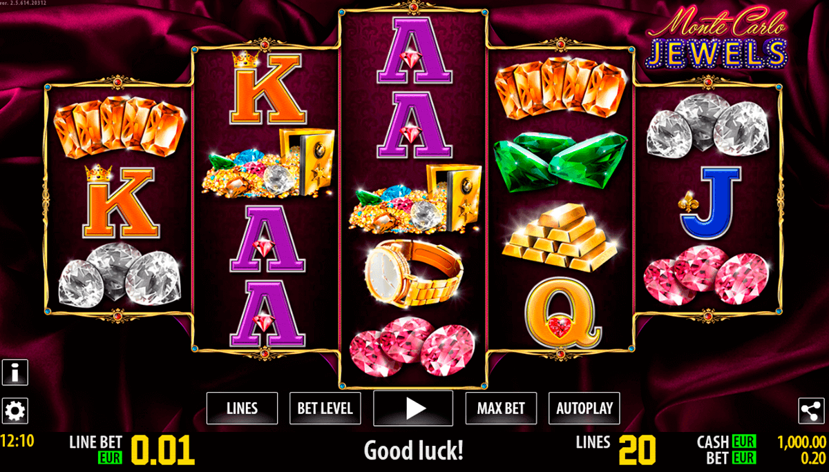 Monte Carlo Jewels™ Slot Machine Game to Play Free in WorldMatchs Online Casinos