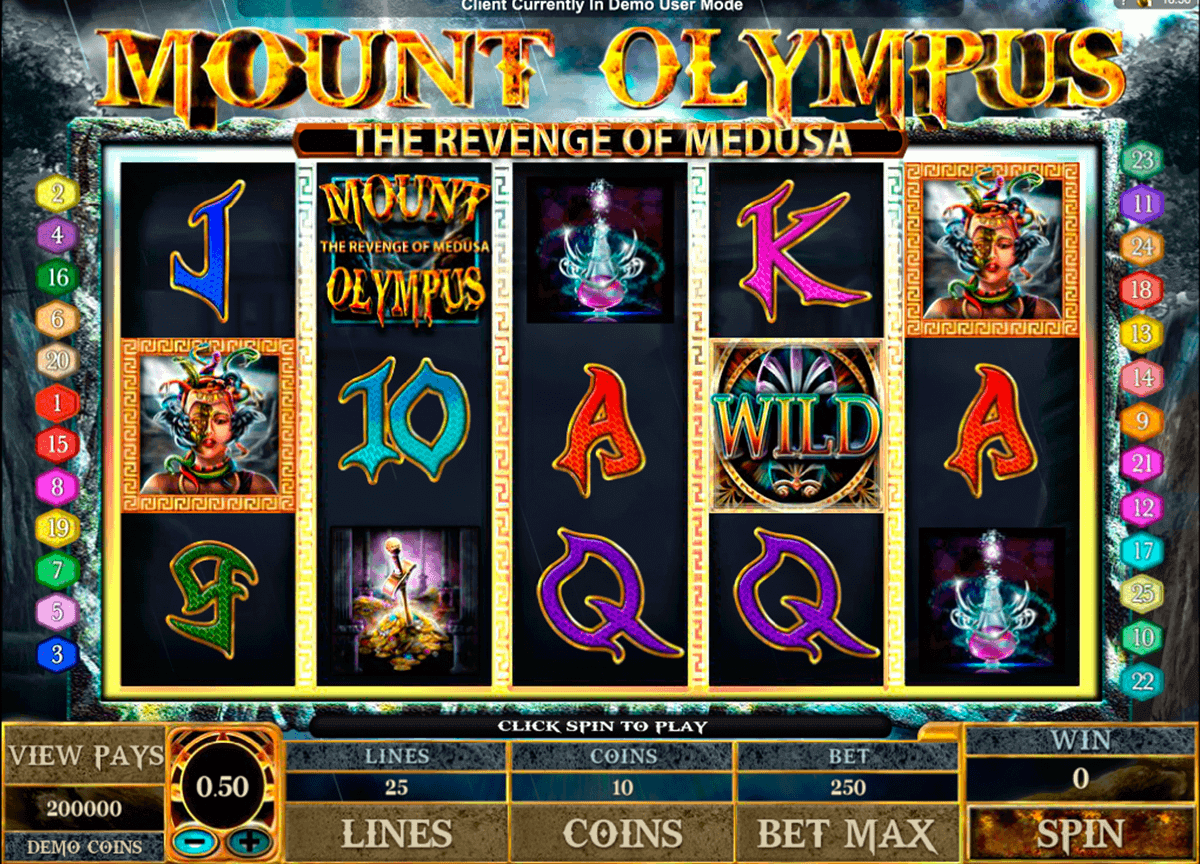 mount olympus microgaming spielautomaten