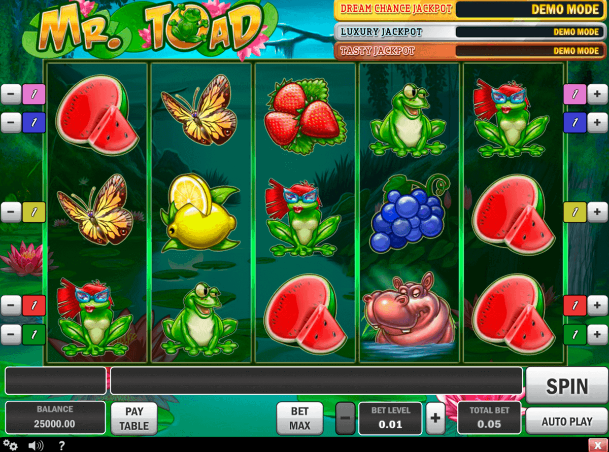 mr toad playn go spielautomaten