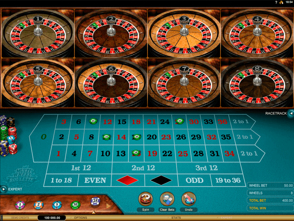 multiwheel european roulette gold series microgaming roulette
