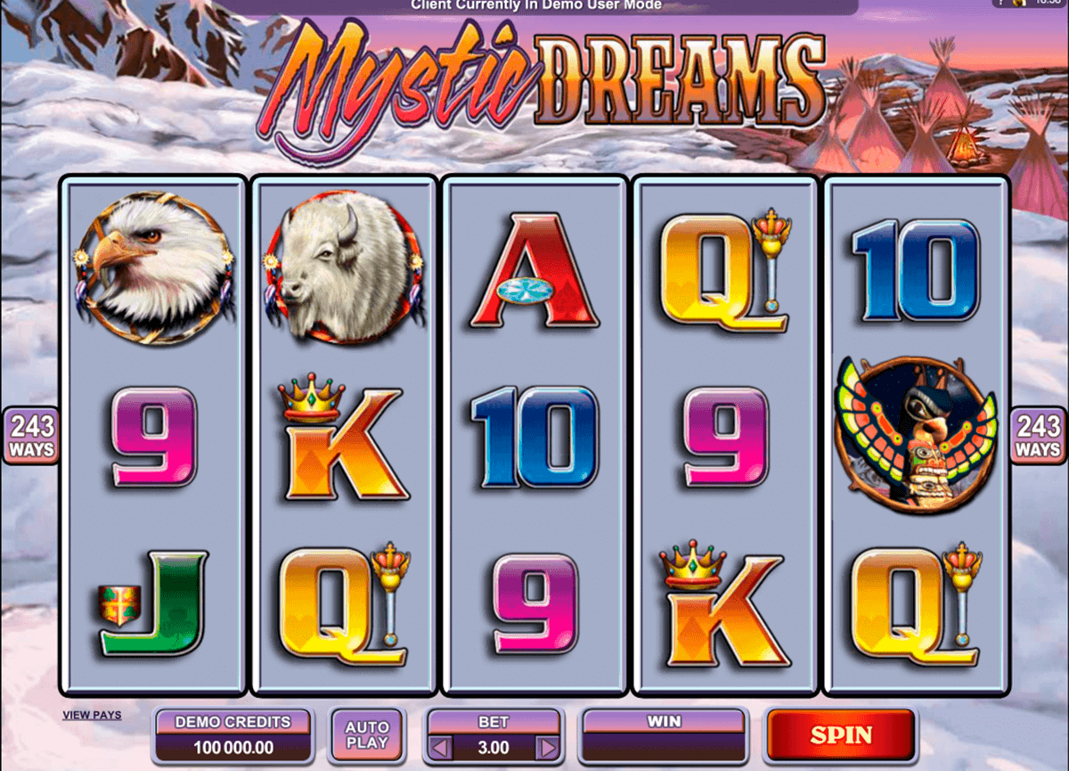 mystic dreams microgaming spielautomaten