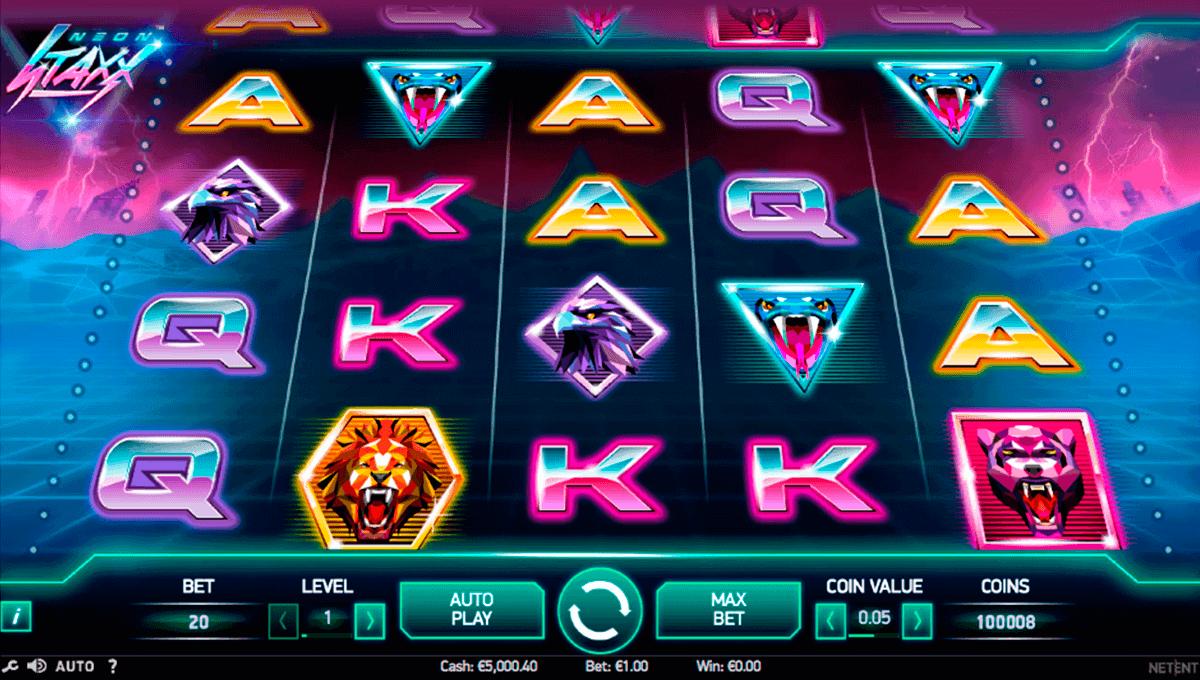 Spiele Space Neon - Video Slots Online
