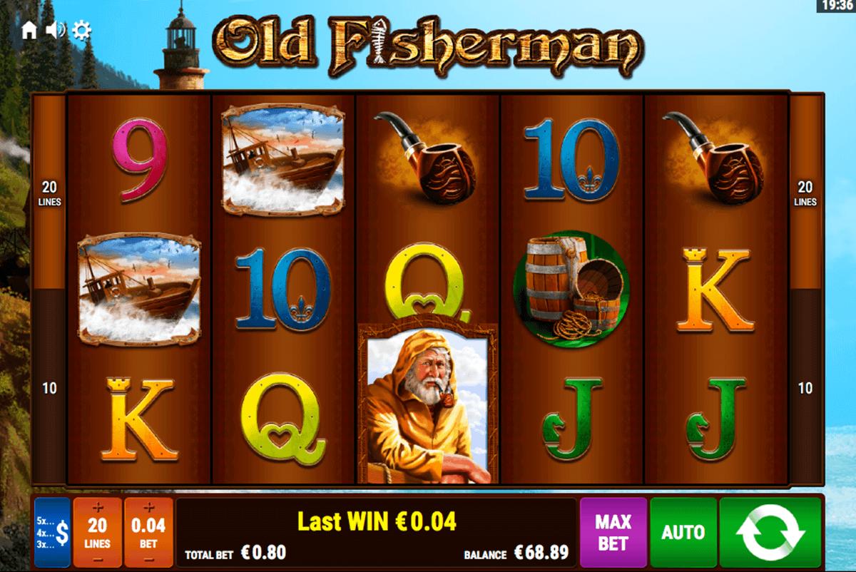 old fisherman bally wulff spielautomaten