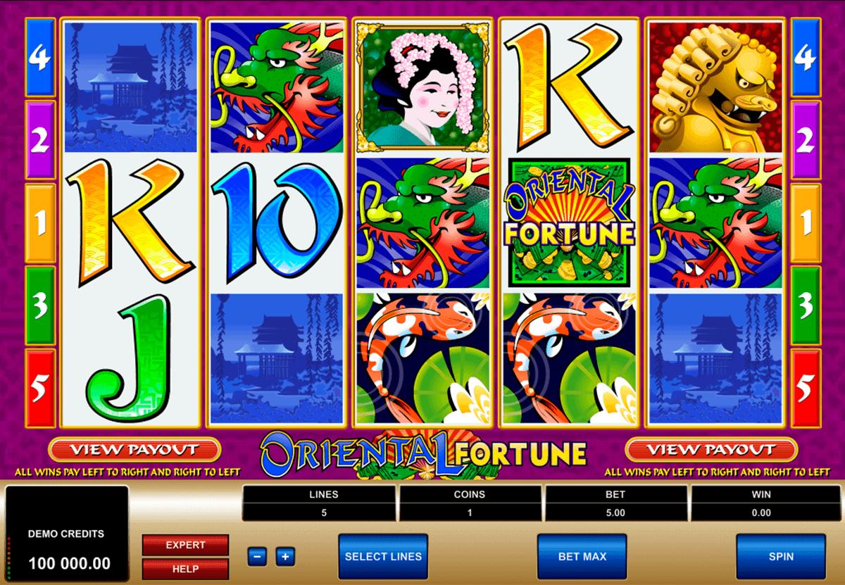 oriental fortune microgaming spielautomaten