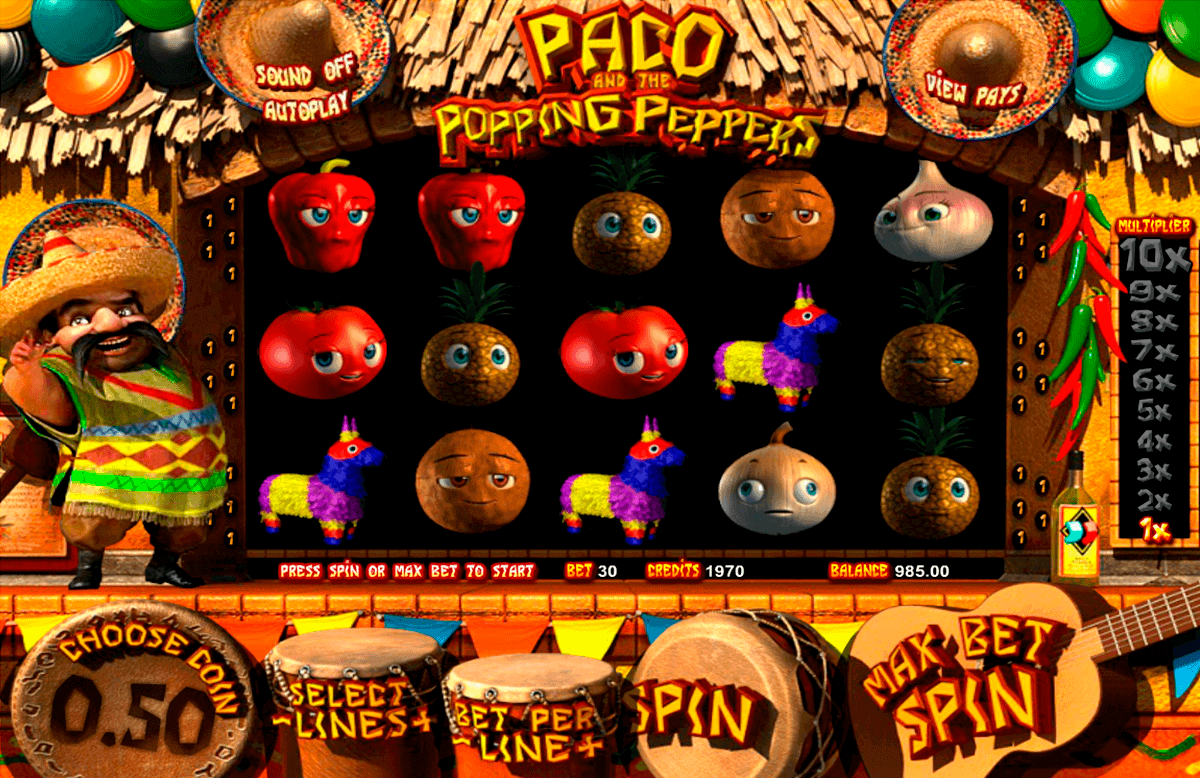 paco and the popping peppers betsoft spielautomaten