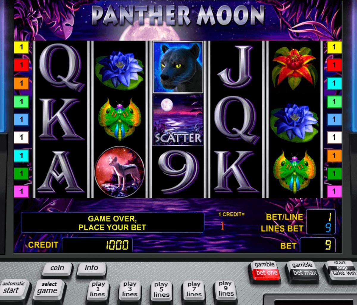 panther moon novomatic spielautomaten