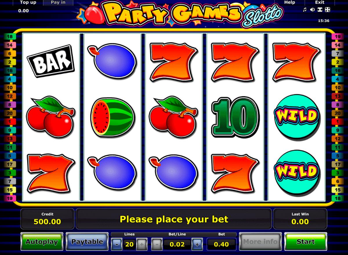 party games slotto novomatic spielautomaten