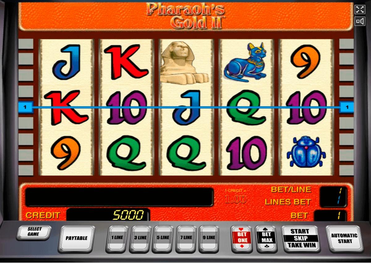 pharaohs gold ii novomatic spielautomaten