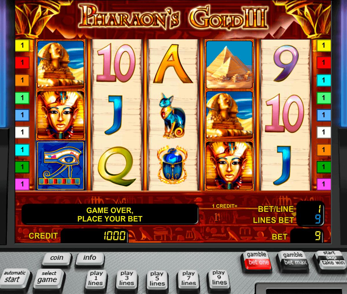 pharaohs gold iii novomatic spielautomaten