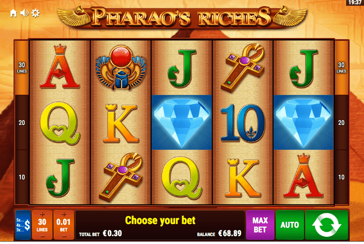 pharaos riches bally wulff spielautomaten