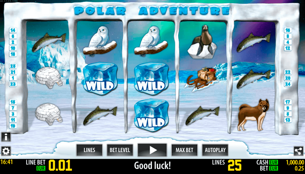 polar adventure hd world match spielautomaten