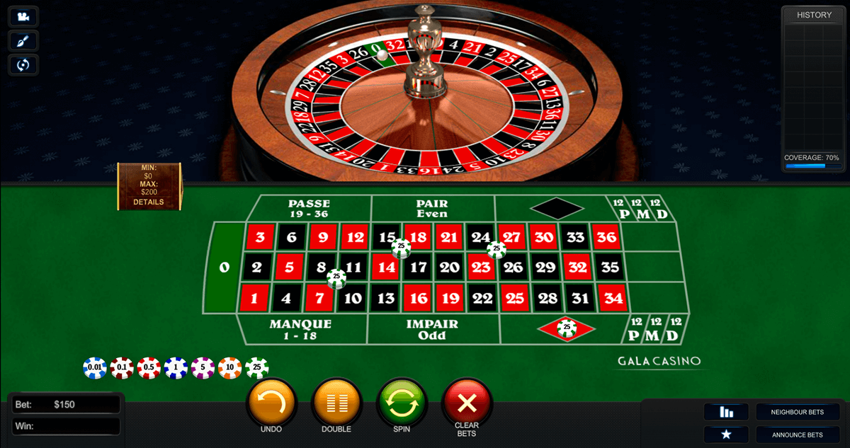 Unterschied french european roulette