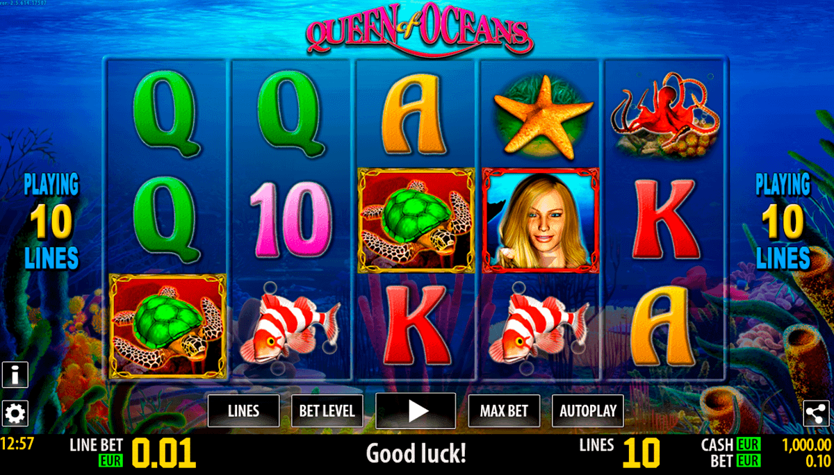 queen of oceans hd world match spielautomaten