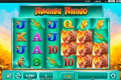 raging rhino wms spielautomaten
