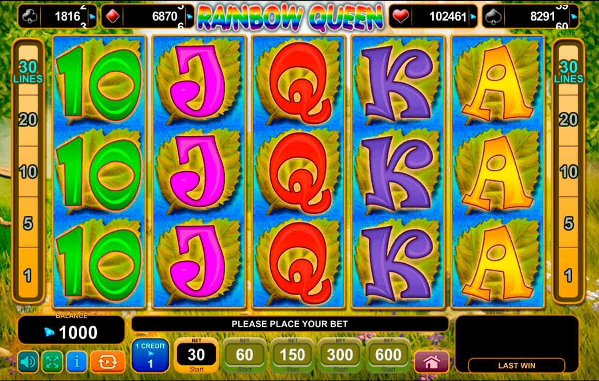 rainbow queen egt spielautomaten