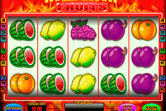 red hot fruits blueprint spielautomaten