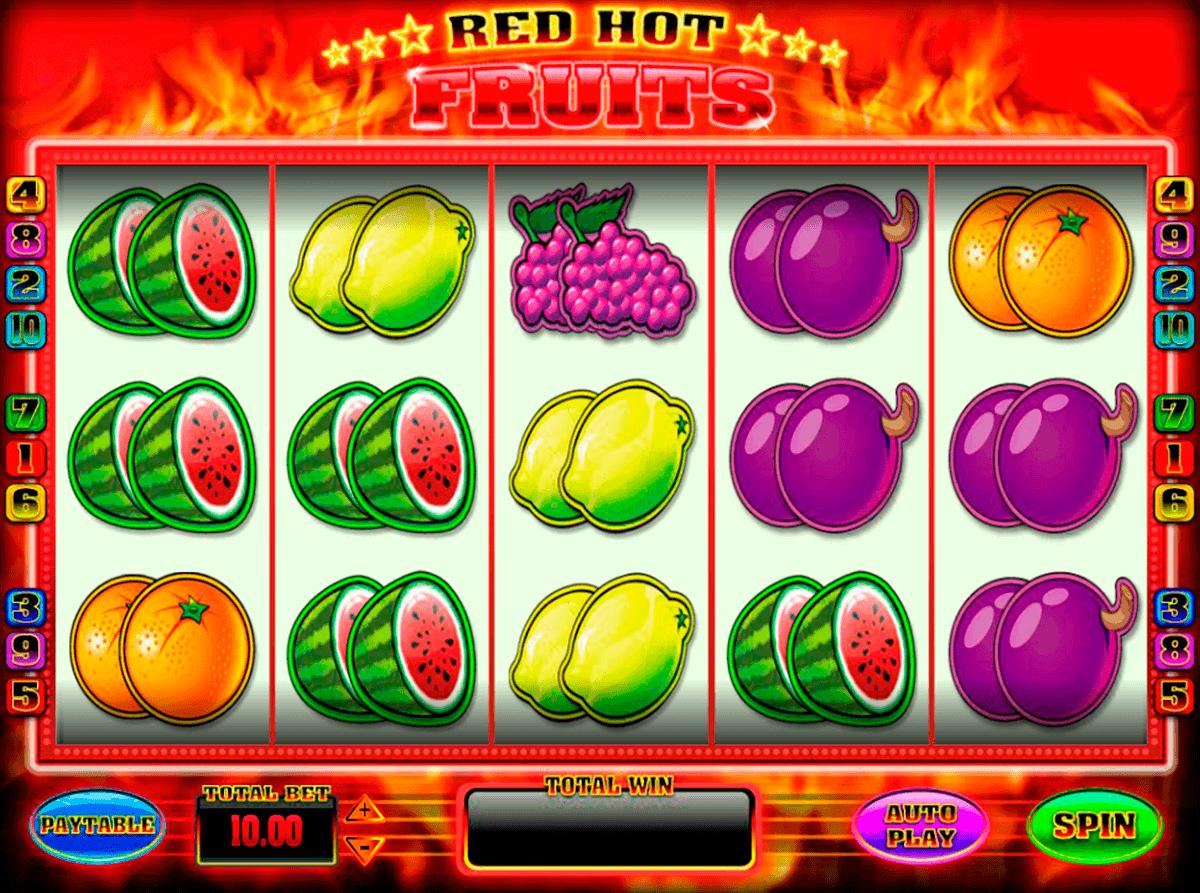 red hot fruits blueprint spielautomaten