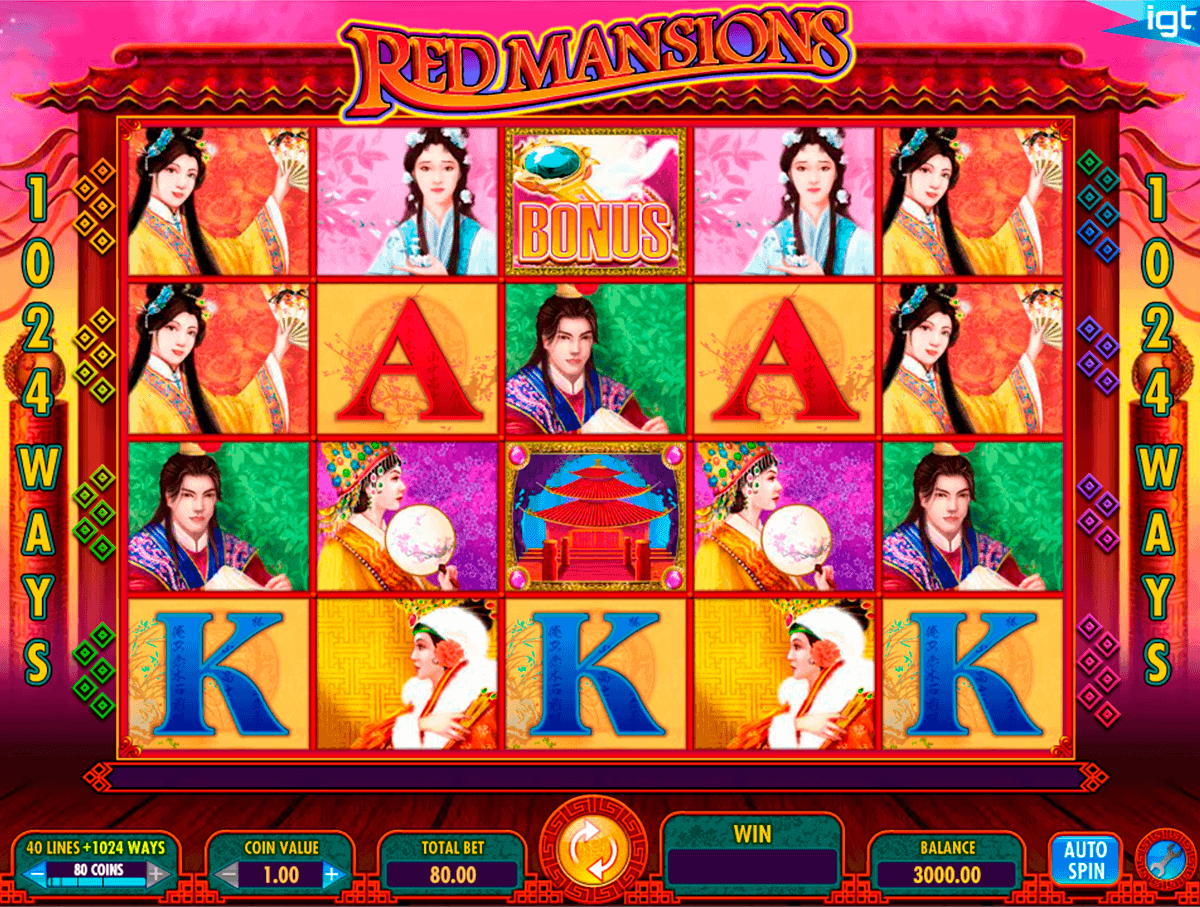 red mansions igt spielautomaten