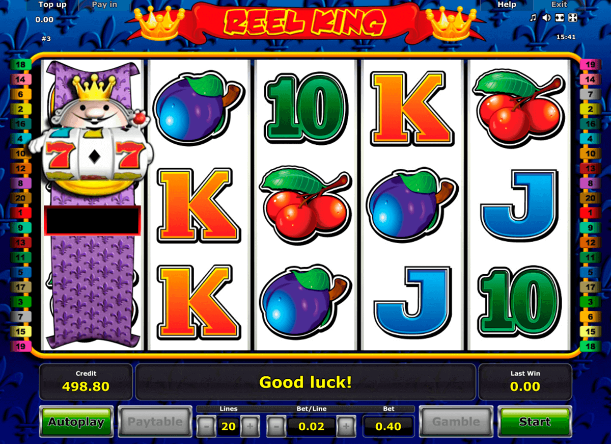 Reel King slot – et gratis Novomatic online casinospil