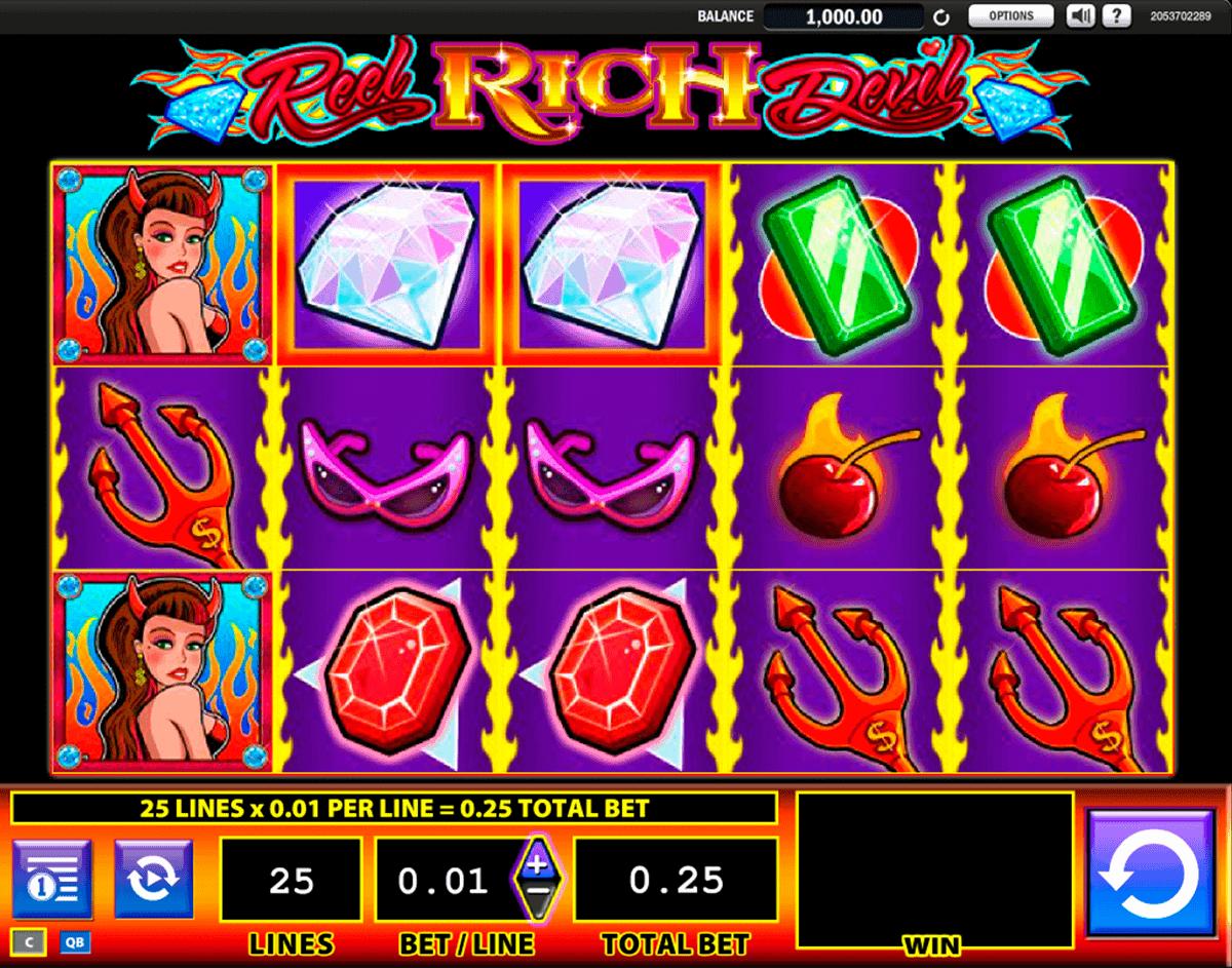 reel rich devil wms spielautomaten