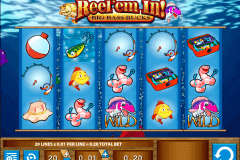 reelem in big bass bucks wms spielautomaten