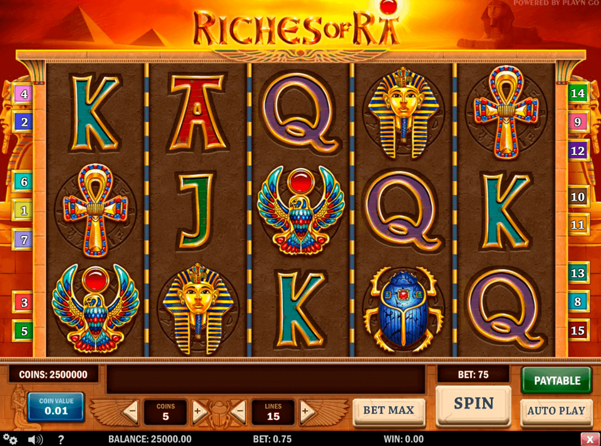 Riches of Ra | Spilleautomater | Mr Green