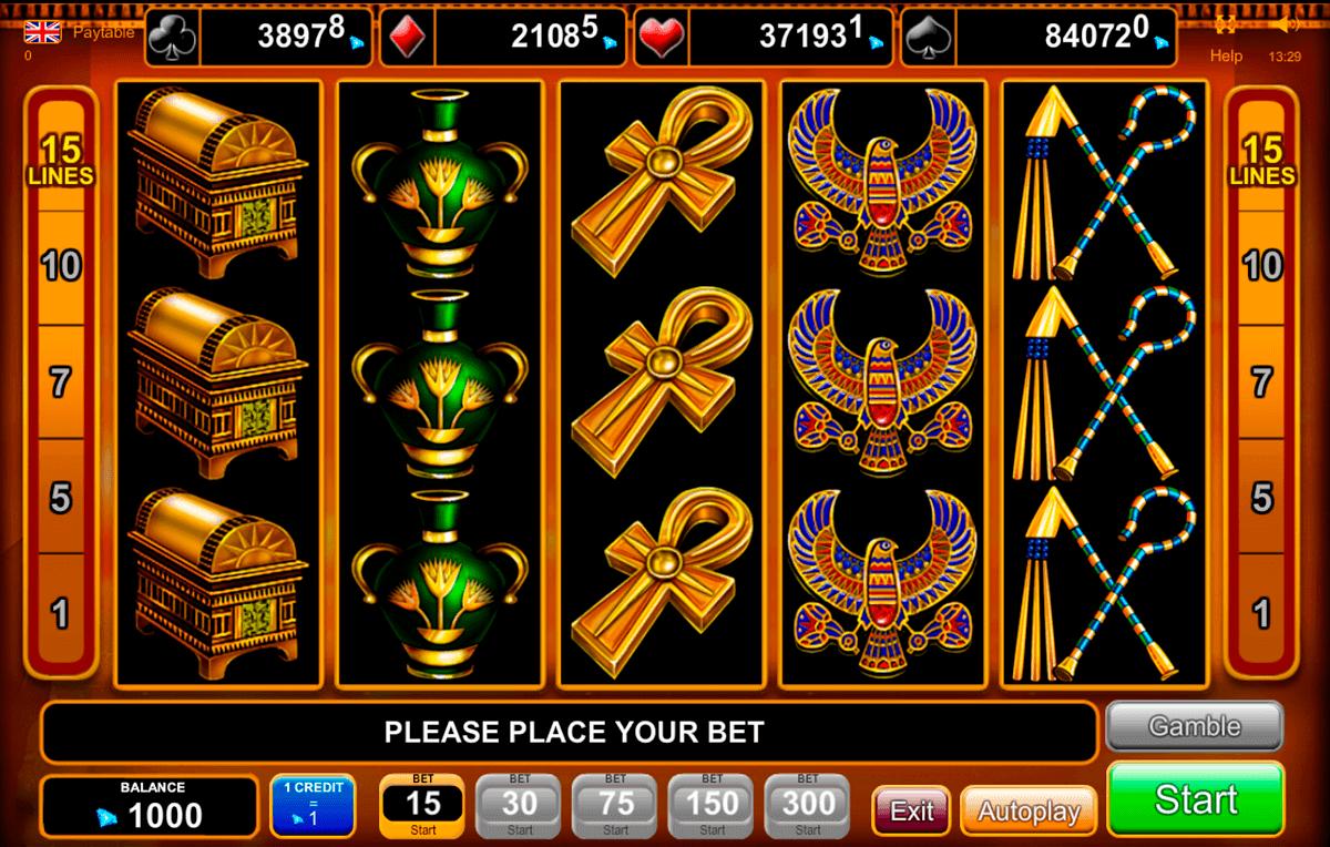 rise of ra egt spielautomaten