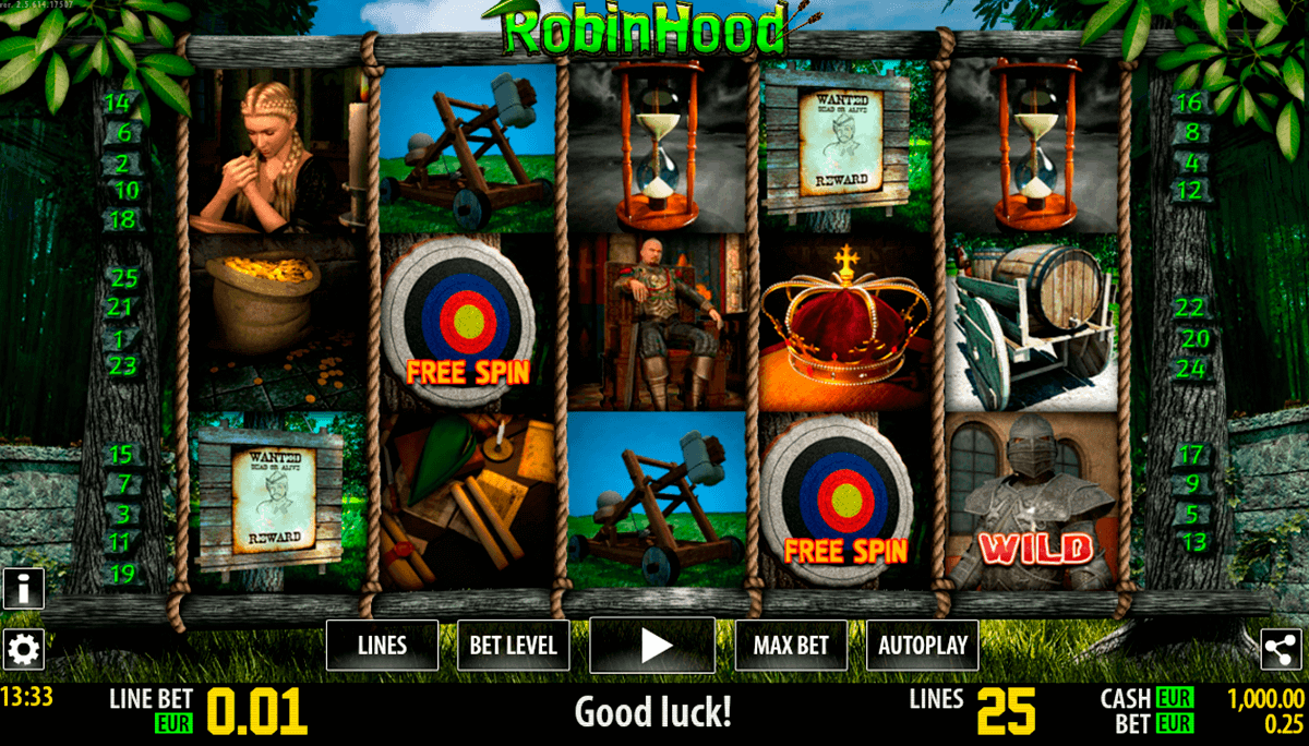 robin hood hd world match spielautomaten
